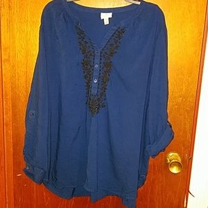 Peasant blouse 3/4 or long sleeve